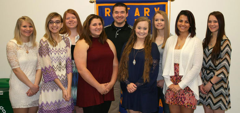 Williamsburg High School Rotary Students of the Month