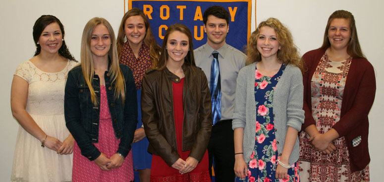 Central High School Rotary Students of the Month