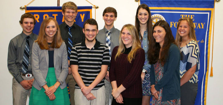 Northern Bedford High School Rotary Students of the Month